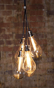 5 Piece Glass Pendant Light - ODN