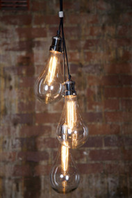3 Piece Glass Pendant Lights - ODN