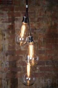 3 Piece Glass Pendant Lights - ODN