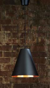 Pendant Light In Black Copper - CNR