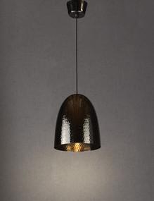 Rustic Charcoal Hanging Lamp - DLC