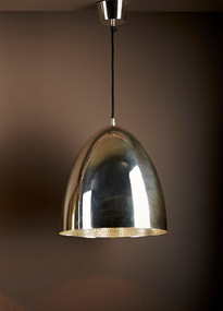 Silver Ceiling Lamp