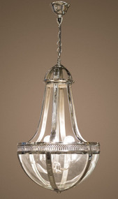 Pendant Light Medium In Nickel - DM