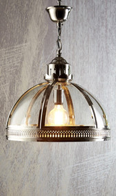 Nickel Glass Pendant - WNS