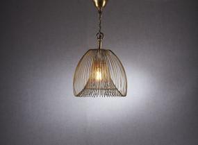Small Pendant Light Gold - BKR