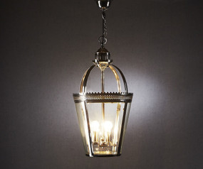 Pendant Light Shiny Nickel - PCC