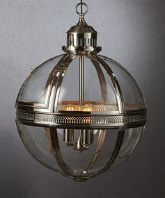 Large Pendant Light Shiny Nickel - SXN