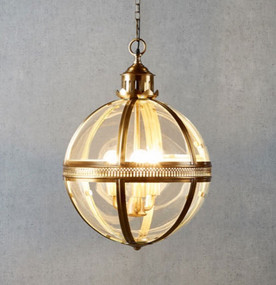 Medium Pendant Light Antique Brass - SXN