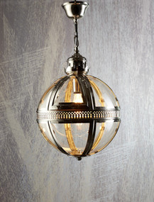 Small Pendant Light Shiny Nickel - SXN
