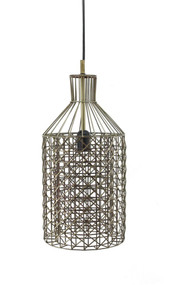 Pendant Light - Antique Brass STRG
