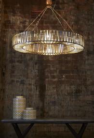 Glass Ring Pendant Light - CHL
