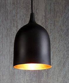 Ceiling Lamp Black Copper - LM
