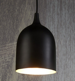 Pendant Light - Black Silver LM