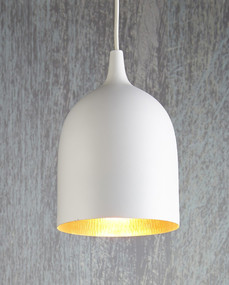 Ceiling Lamp White Copper - LM