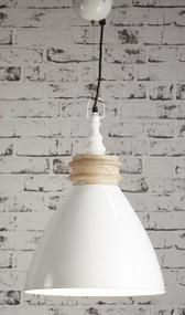 Pendant Light In Off White - SRD