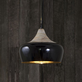 Pendant Light In Black - MLN
