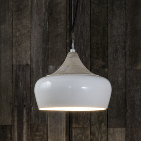 Pendant Light In White - MLN