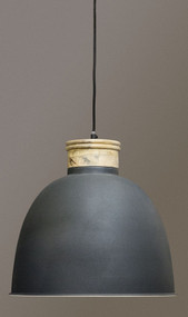 Pendant With Timber Top - QNS