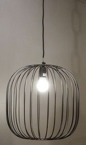 Cage Round Pendant Light - ALX