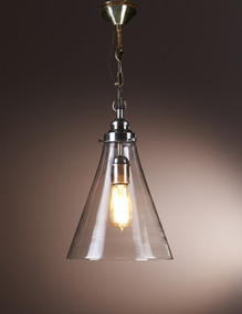 Small Glass Pendant Light - GDS
