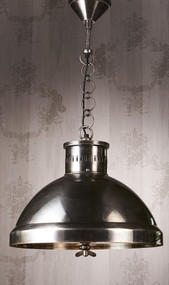 Pendant Light In Silver - MDS