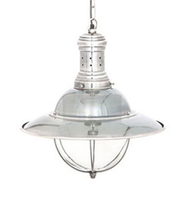 Pendant Light In Silver - HRR