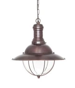 Pendant Light In Copper - HRR