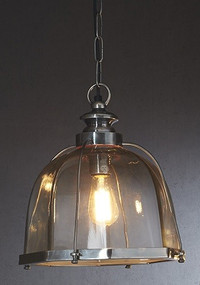 Classic Silver Ceiling Lamp - AVR