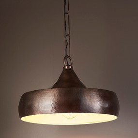 Pendant Light In Brass Dark - LFY