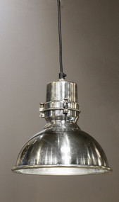 Medium Pendant Light In Silver - AGS