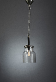Pendant Light In Silver - HT