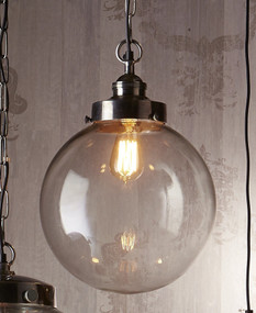 Medium Pendant Light In Silver - CLS