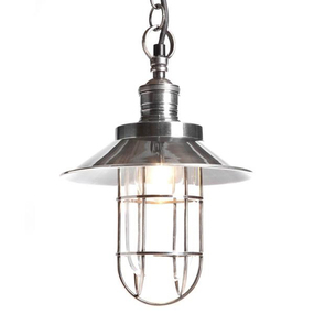 Pendant Light In Silver - MN