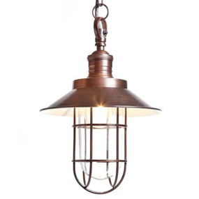 Pendant Light In Copper - MN