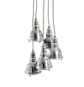 Pendant Light Antique Silver - KLS