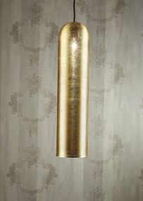 Pipe Pendant Light Brass - MRC