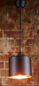 Pendant Light In Black Copper - PRT