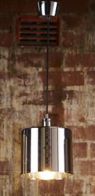Pendant Light In Metallic Silver - PRT