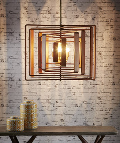 Timber Spiral Pendant Light - WLN