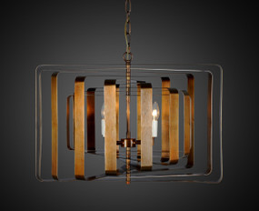Pendant Light In Brass - BRN