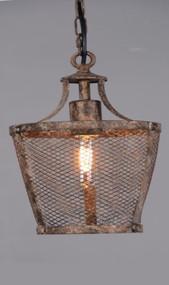 Medium Pendant Light In Rustic - FB