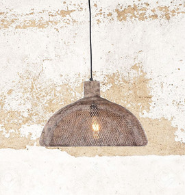Large Pendant Light Rustic - VLN