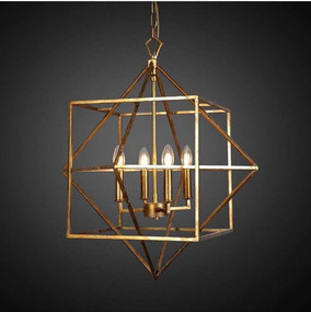 Ceiling Light In Gold - MSM