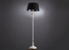 Floor Lamp Base In White - CSB
