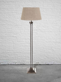 Floor Lamp - Brass with Bronze Base - HDS