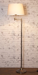Floor Lamp - Classic Silver Base - MCL