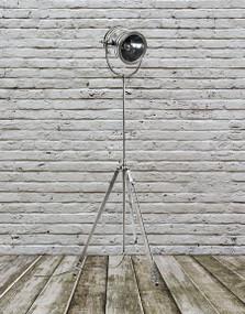Classic Silver Floor Lamp - WLS