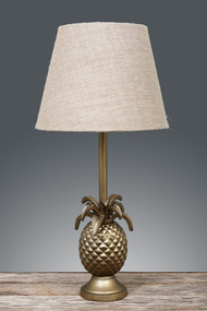 Emac & Lawton Table Lamp Base Brass in Brown - STM
