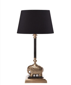 Table Lamp Base - Antique Brass SB