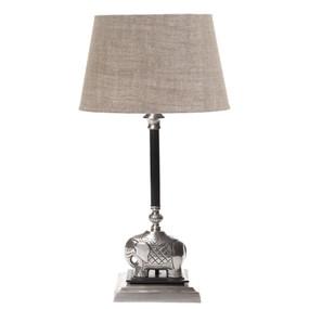 Table Lamp Base - Antique Silver SB